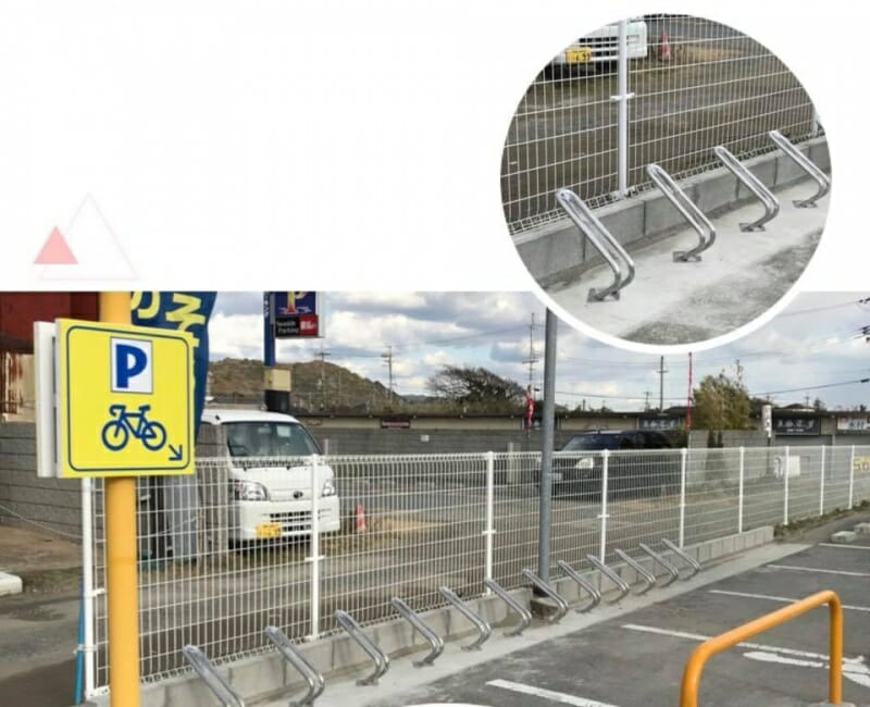 駐輪場・バイク置き場設置しました