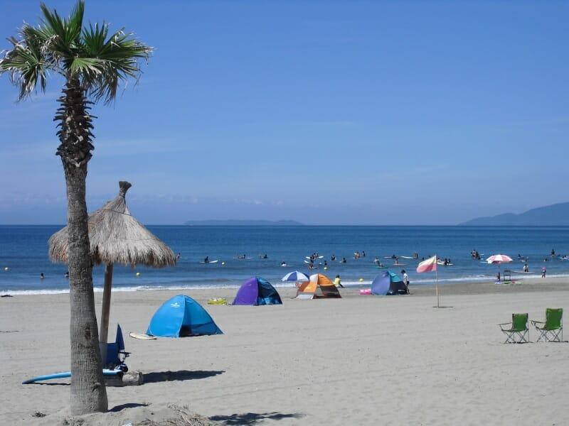 磯の浦海水浴場は、今年も開場します。