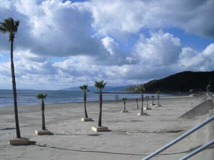磯の浦海水浴場は平常通り開場しています。